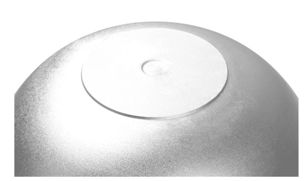 Алюминиевый казан 8 л. Kukmara, без покрытия, к85, плоское дно - фото 10435