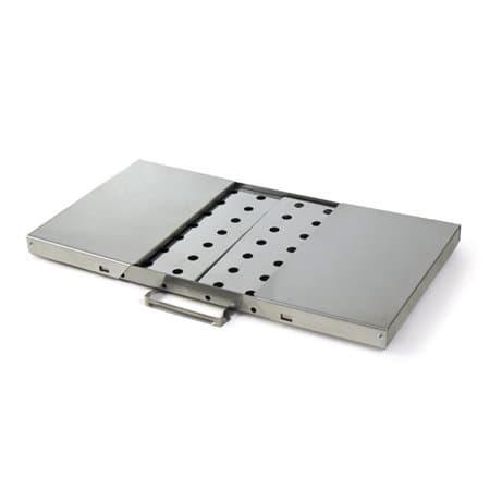 Мангал-Дипломат нержавеющая сталь 570х250х720 мм - фото 4821