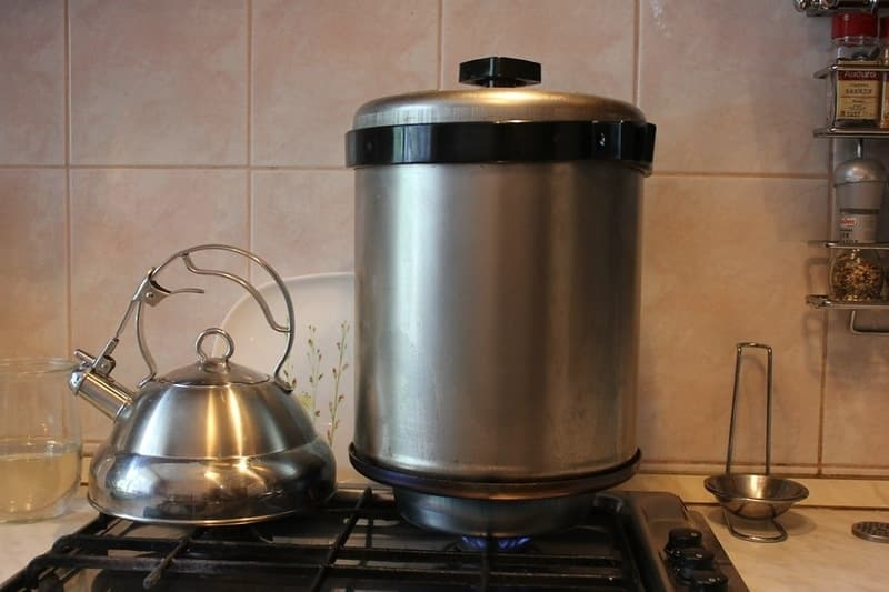 Коптильня цилиндрическая для дома Сельмаш (Сатурн) - фото 5049