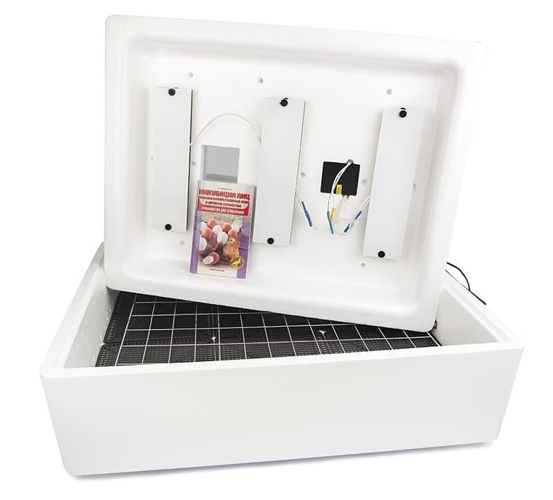 Инкубатор Несушка 104 яйца 220/12 В, автомат. поворот, цифр. терм., БИ-2 - фото 5489
