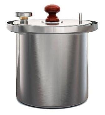 Коптильня цилиндрическая из нержавеющей стали ДЫМКА - КМ-1 - фото 5521