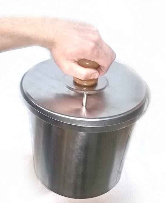 Коптильня цилиндрическая из нержавеющей стали ДЫМКА - КМ-1 - фото 5523