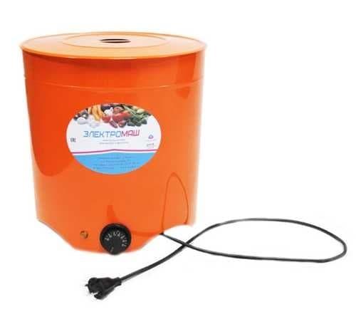 Электросушилка металлическая для овощей и фруктов 4 лотка Электромаш - фото 5553