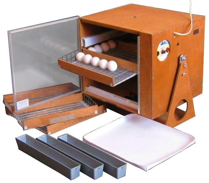 Инкубатор ПОСЕДА М-331, 150 яиц,автомат. поворот, рег. влажности - фото 5631