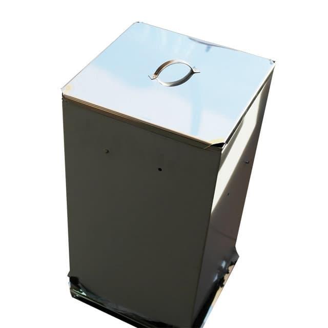 Коптильня Дым Дымыч 02Б холодное копчение из нерж. стали с емкостью 50 л. УЗБИ - фото 5663
