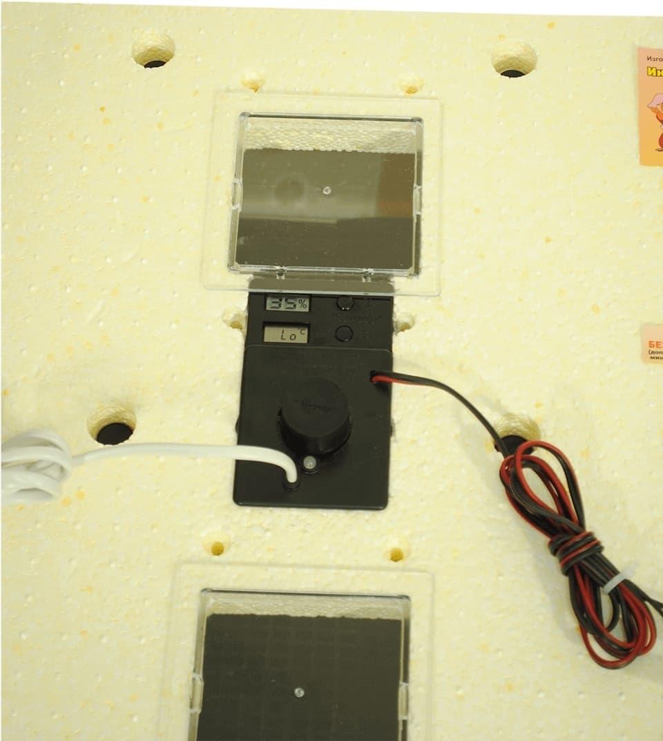 Инкубатор Золушка 98 яиц, автопереворот, 220/12В, аналоговый терм., гигрометр - фото 6228