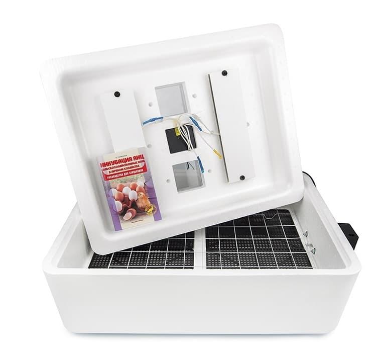 инкубатор несушка 104 яйца цифровой, термометр гигрометр вентиляция