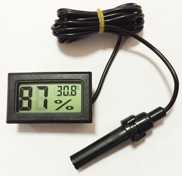 Гигрометр/термометр цифровой ТГМ-1 - фото 6503