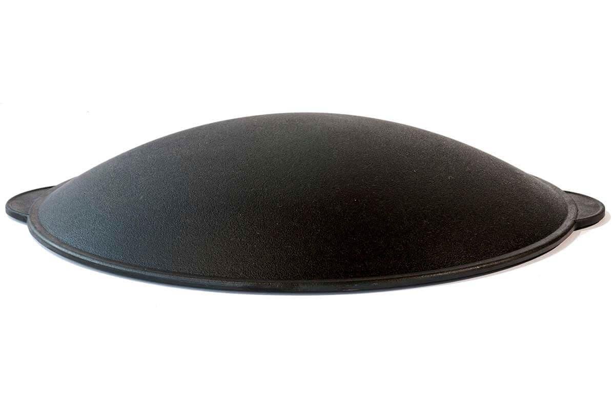 Крышка - сковорода 360 мм. чугунный САДЖ Орша - фото 6643