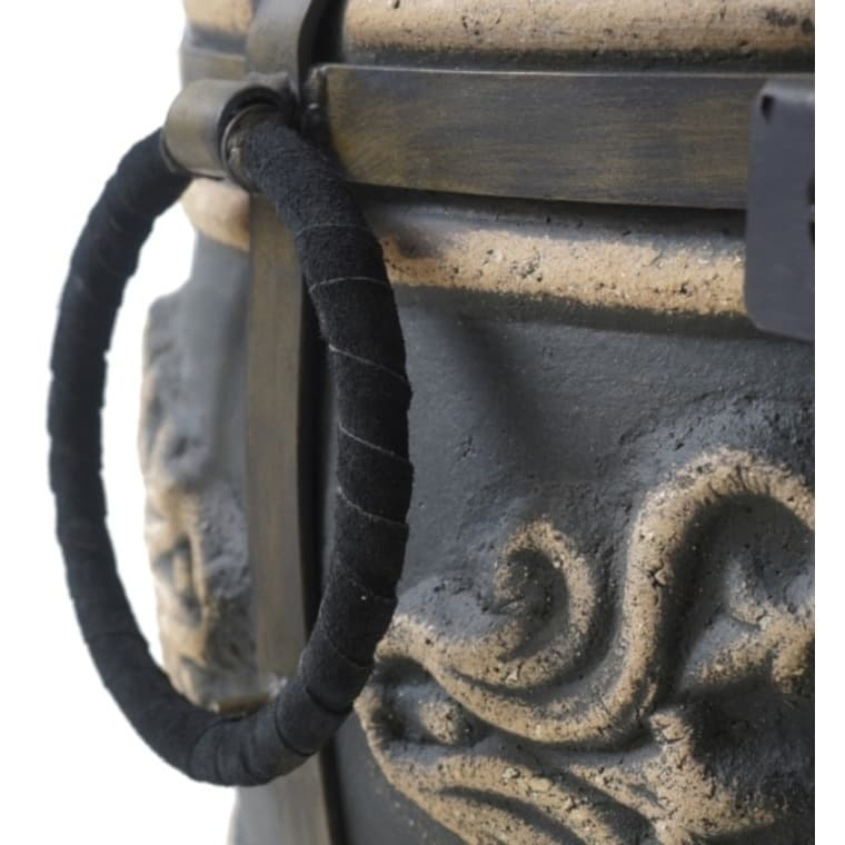 Тандыр Фирменный со столиком, графит, Эко - фото 6777