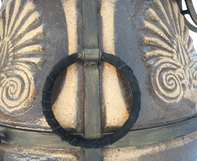 Тандыр Греческий, чёрный, крышка откидывается, Эко - фото 6803