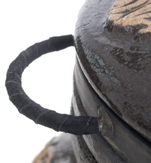 Тандыр Гранд с подставкой под крышку, чёрный, Эко - фото 6844
