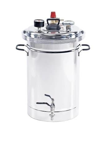 Автоклав Булат Богатырь на 26 литров, нерж.сталь, для всех плит - фото 7776