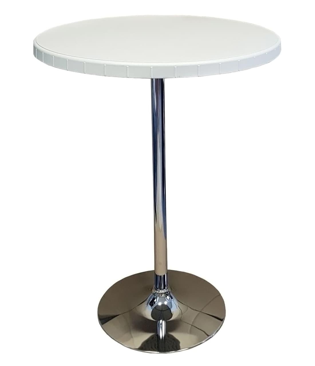 Стол барный разборный 80/110, HDPE пластик, металл.коркас - фото 7798