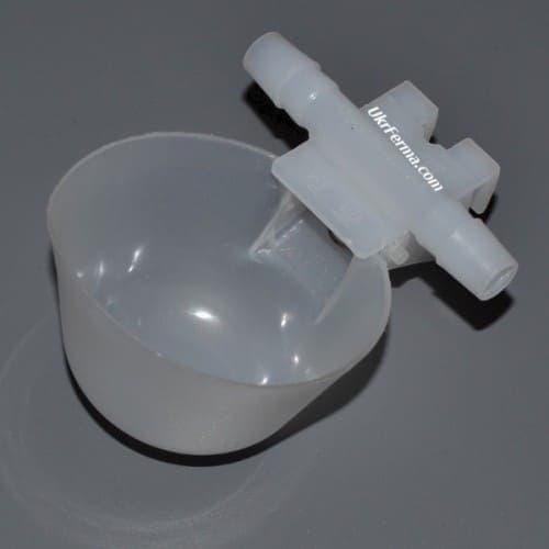 Чашечная поилка для кур и молодняка арт. 1073 - фото 7932