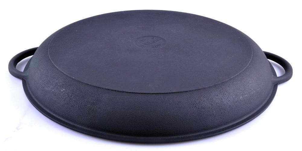 арт.Ч340с Крышка - сковорода чугунная (вафля) 340 мм. СИТОН - фото 8077