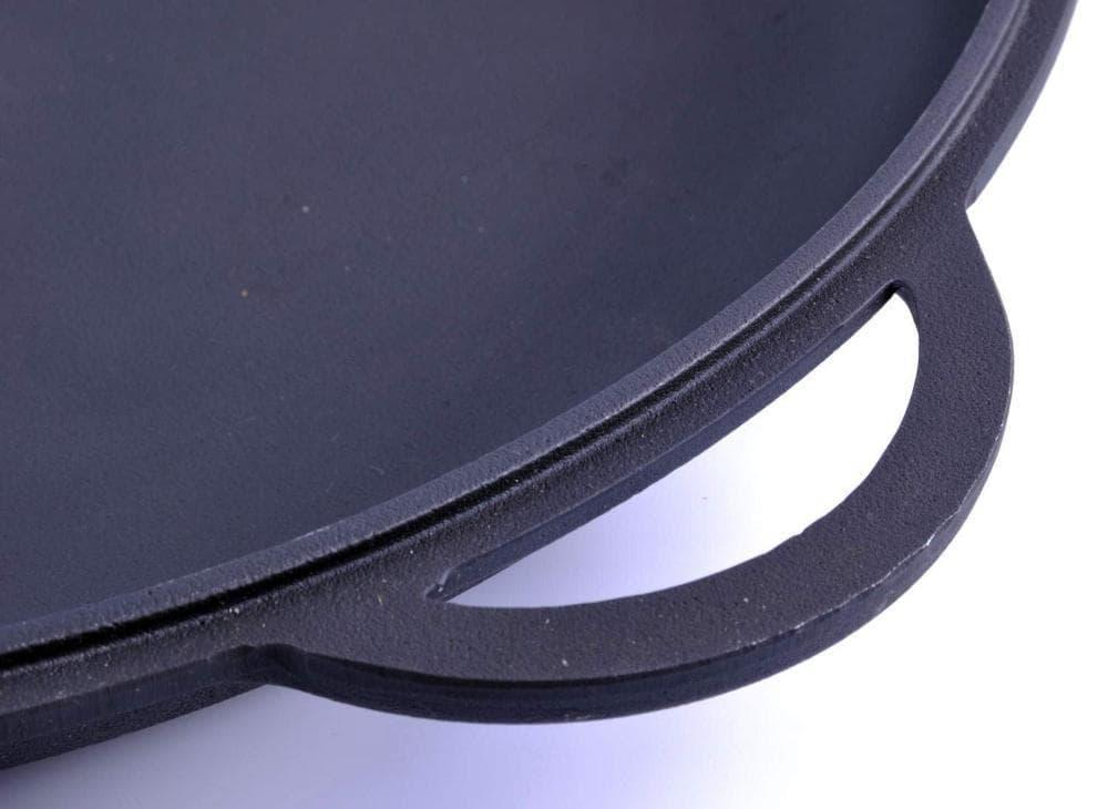 арт.Ч450с Крышка - сковорода чугунная (вафля) 450 мм. СИТОН - фото 8082
