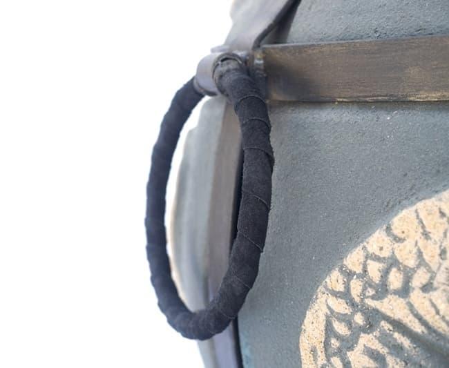 Тандыр Шар, графит, с откидной крышкой, Эко - фото 8096