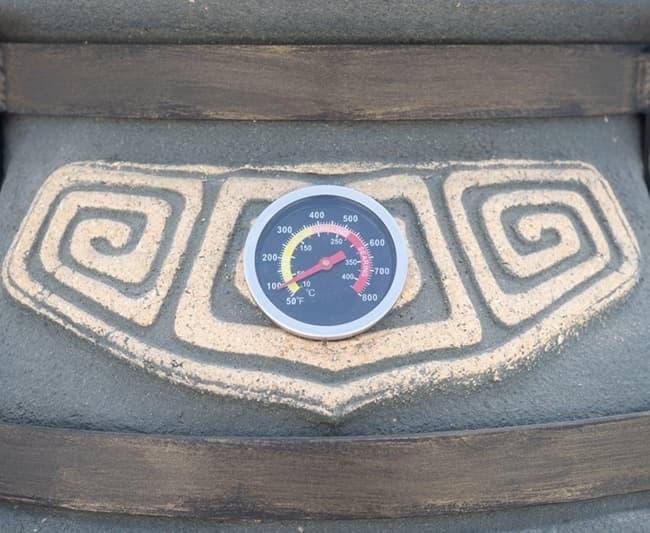 Тандыр Шар, графит, с откидной крышкой, Эко - фото 8097