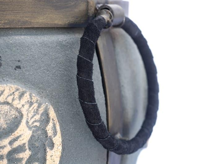 Тандыр Шар, графит, с откидной крышкой, Эко - фото 8098