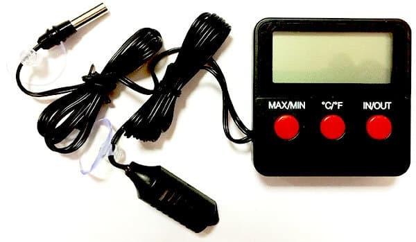 Гигрометр/термометр, время, будильник цифровой ТГМ-2 - фото 8365