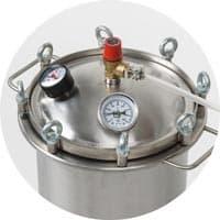 Автоклав Fansel (Фансел) 37 литров, нерж сталь, для всех плит - фото 8654
