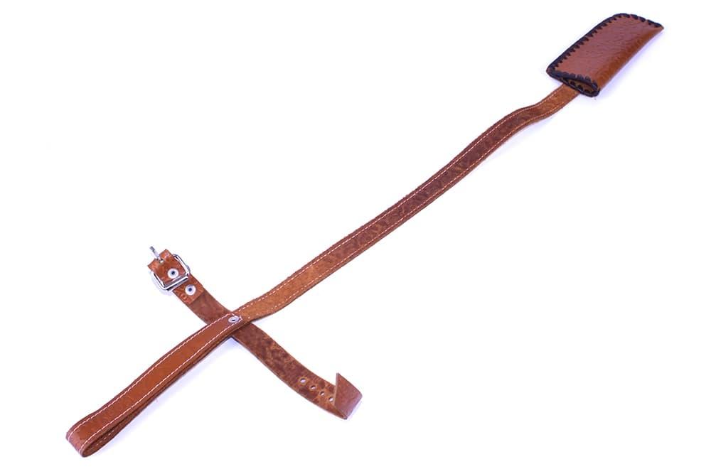Чехол для шампуров Колчан Портупея, кожа, коричневый - фото 8757