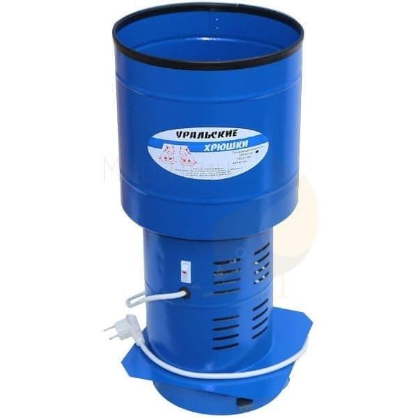 Зернодробилка Уральские Хрюшки электрическая круглая,до 300 кг/ч, 800 Вт. ТермМикс - фото 9090