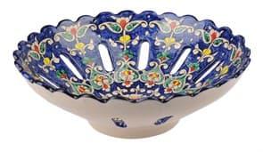 Фруктовница Риштанская Керамика 33 см, микс