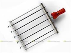 Шампура-самокруты ЧУДО 5 шт. нержавеющая сталь с двигателем УЗБИ